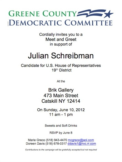 Meet Julian Schreibman This Sunday