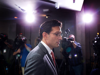 Eric Cantor, Enemy of Progress