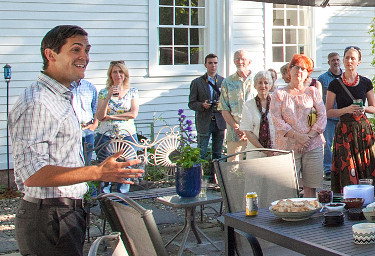 Sean Eldridge Speaking in Catskill