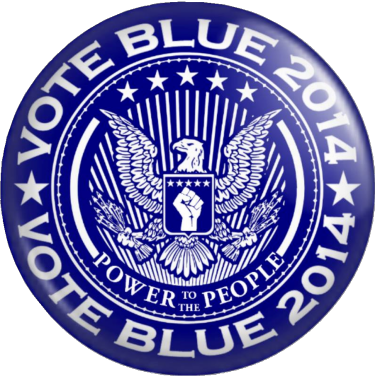 Vote Blue—Power to the People