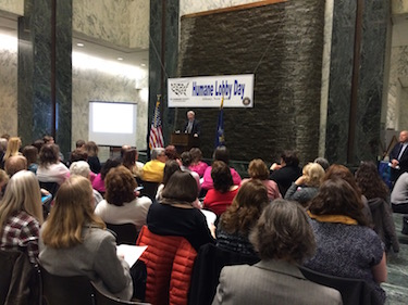 Humane Lobby Day in Albany