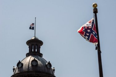 The Confederate flag in South Carolina
